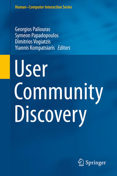 User Community Discovery - Coverbild