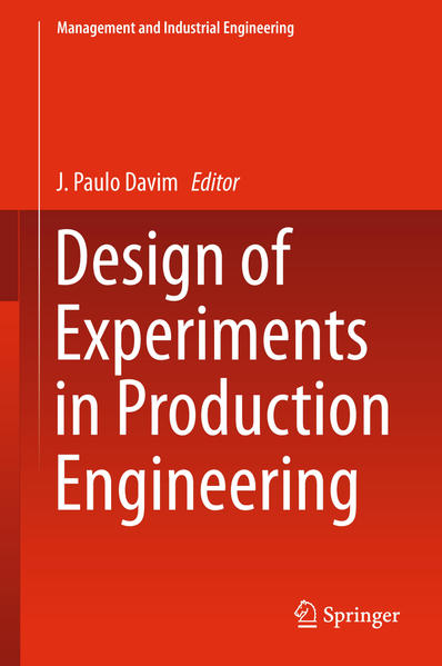 Design of Experiments in Production Engineering - Coverbild