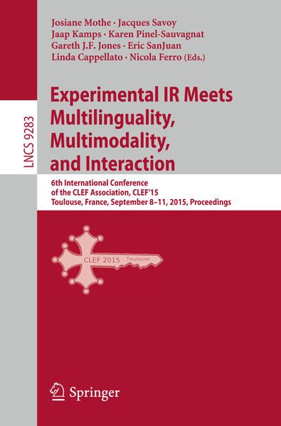 Experimental IR Meets Multilinguality, Multimodality, and Interaction - Coverbild