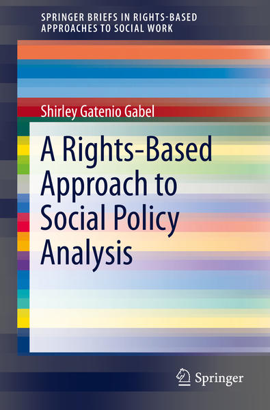 A Rights-Based Approach to Social Policy Analysis - Coverbild