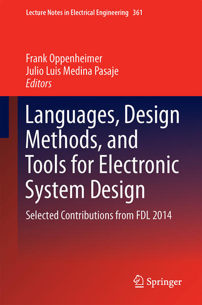 Languages, Design Methods, and Tools for Electronic System Design - Coverbild