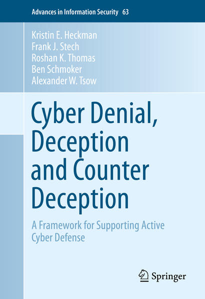 Cyber Denial, Deception and Counter Deception - Coverbild