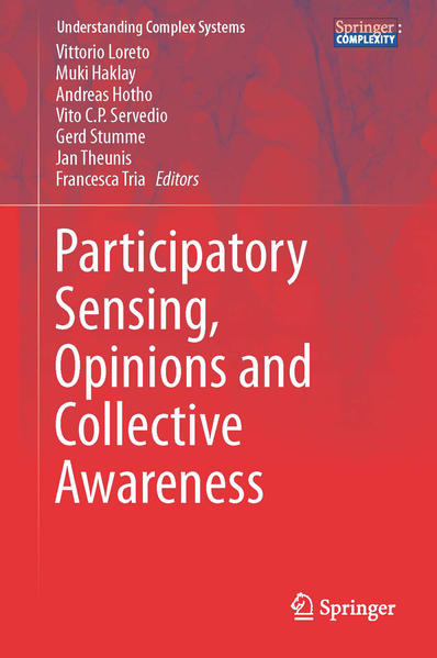 Participatory Sensing, Opinions and Collective Awareness - Coverbild