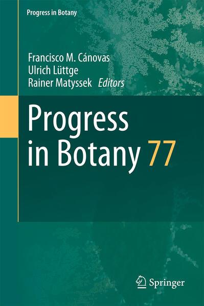 Progress in Botany 77 - Coverbild
