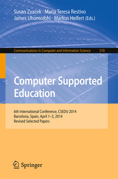 Computer Supported Education - Coverbild