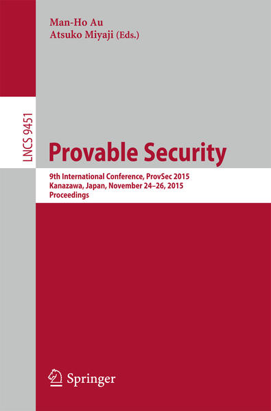 Provable Security - Coverbild
