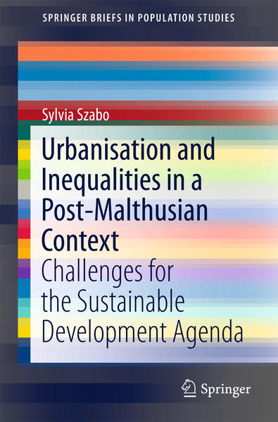 Urbanisation and Inequalities in a Post-Malthusian Context - Coverbild