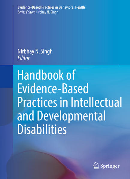 Handbook of Evidence-Based Practices in Intellectual and Developmental Disabilities - Coverbild