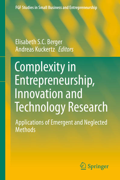 Complexity in Entrepreneurship, Innovation and Technology Research - Coverbild