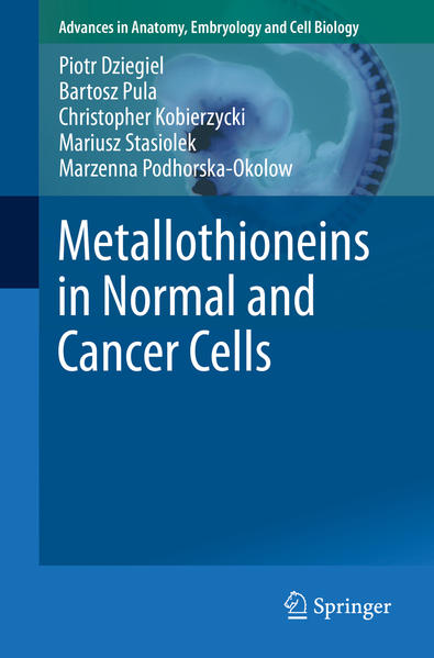 Metallothioneins in Normal and Cancer Cells - Coverbild