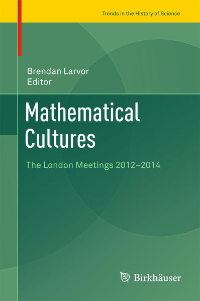 Mathematical Cultures - Coverbild