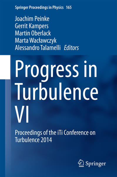 Progress in Turbulence VI - Coverbild