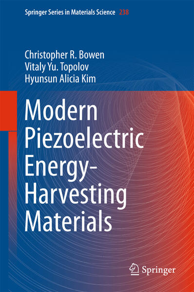 Modern Piezoelectric Energy-Harvesting Materials - Coverbild