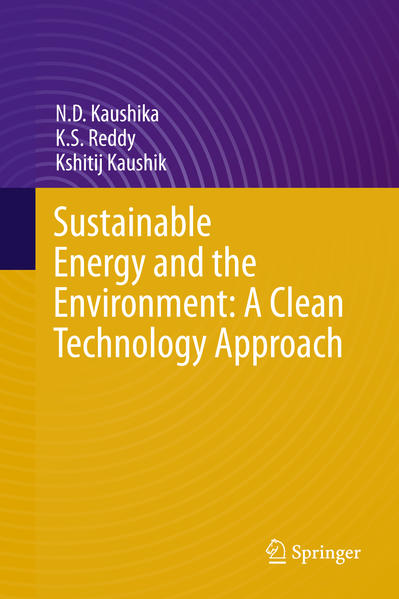 Sustainable Energy and the Environment: A Clean Technology Approach - Coverbild