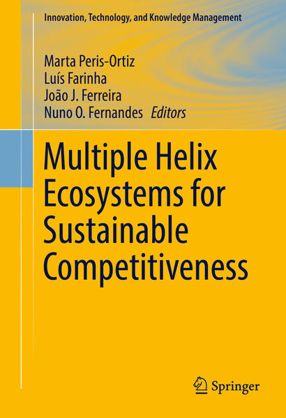 Multiple Helix Ecosystems for Sustainable Competitiveness - Coverbild