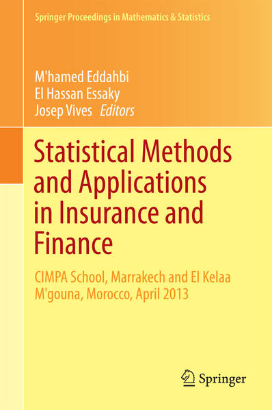 Statistical Methods and Applications in Insurance and Finance - Coverbild