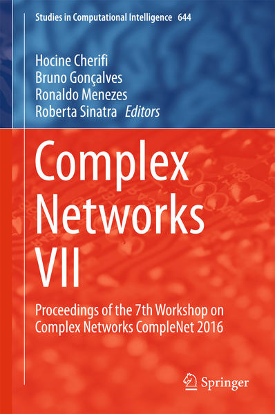 Complex Networks VII - Coverbild