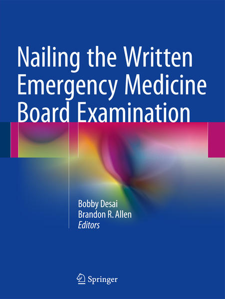 Nailing the Written Emergency Medicine Board Examination - Coverbild