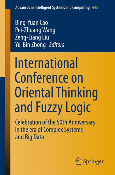 International Conference on Oriental Thinking and Fuzzy Logic - Coverbild