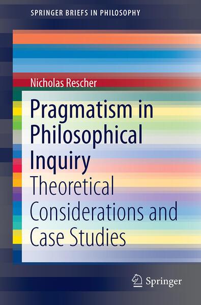 Pragmatism in Philosophical Inquiry - Coverbild