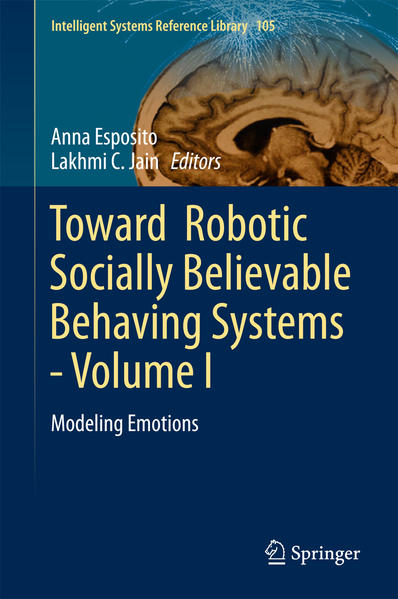 Toward  Robotic Socially Believable Behaving Systems - Volume I  - Coverbild