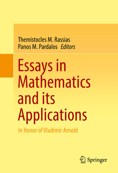 Essays in Mathematics and its Applications - Coverbild
