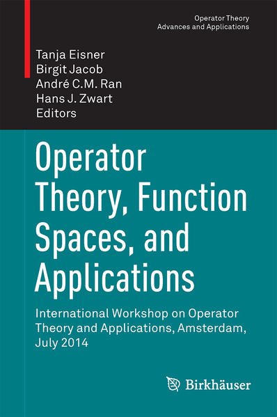 Operator Theory, Function Spaces, and Applications - Coverbild