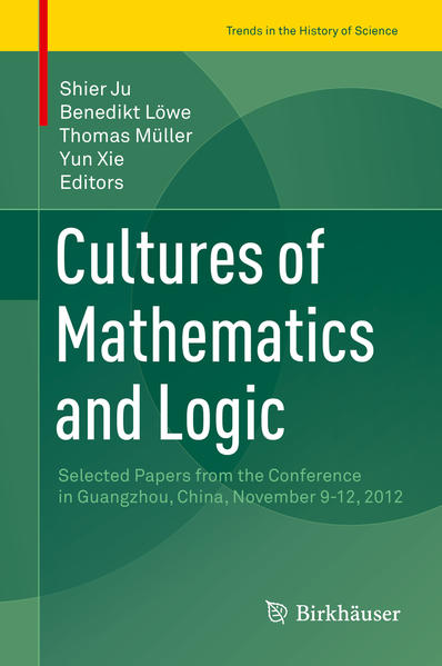 Cultures of Mathematics and Logic - Coverbild