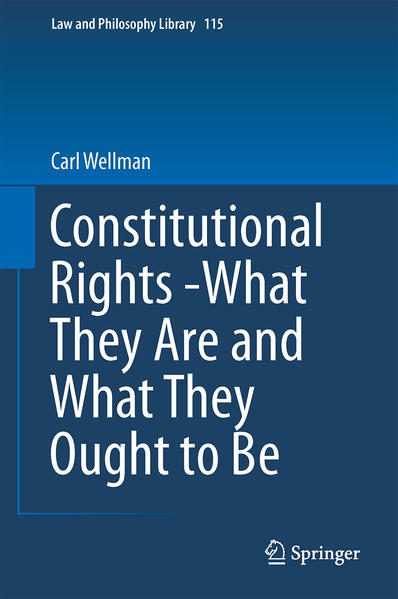 Constitutional Rights -What They Are and What They Ought to Be - Coverbild
