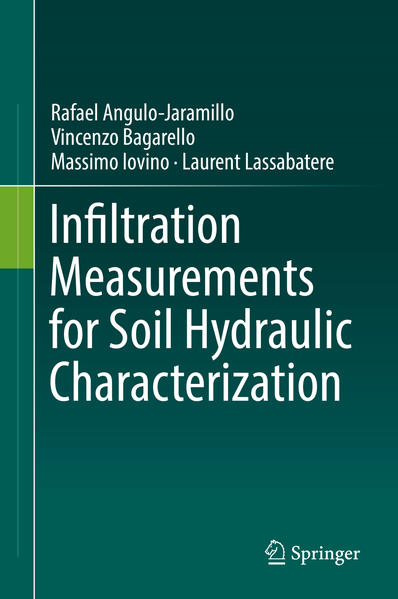 Infiltration Measurements for Soil Hydraulic Characterization - Coverbild