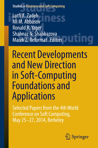 Recent Developments and New Direction in Soft-Computing Foundations and Applications - Coverbild