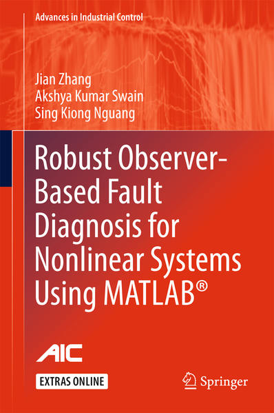Robust Observer-Based Fault Diagnosis for Nonlinear Systems Using MATLAB® - Coverbild