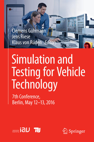 Simulation and Testing for Vehicle Technology - Coverbild