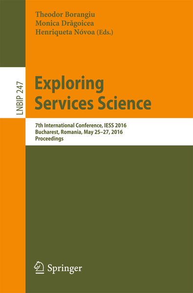 Exploring Services Science - Coverbild