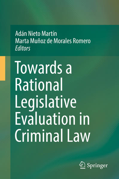 Towards a Rational Legislative Evaluation in Criminal Law - Coverbild