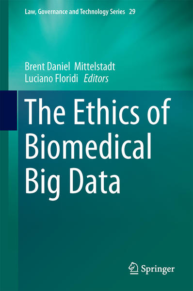 The Ethics of Biomedical Big Data - Coverbild