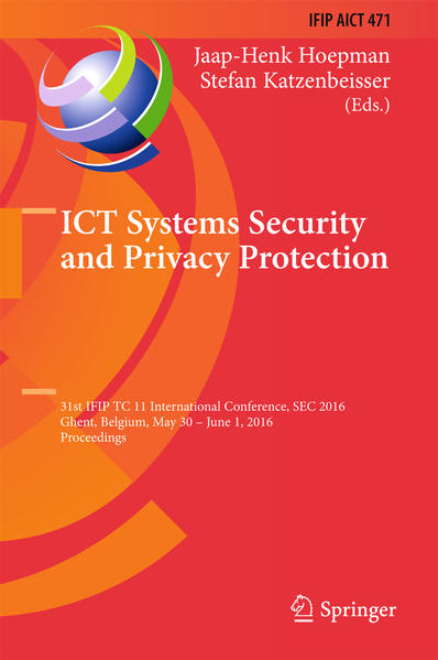 ICT Systems Security and Privacy Protection - Coverbild