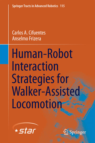 Human-Robot Interaction Strategies for Walker-Assisted Locomotion - Coverbild