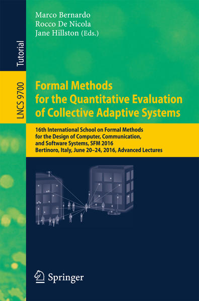 Formal Methods for the Quantitative Evaluation of Collective Adaptive Systems - Coverbild