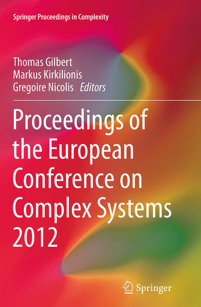 Proceedings of the European Conference on Complex Systems 2012 - Coverbild