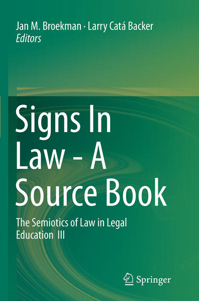 Signs In Law - A Source Book - Coverbild