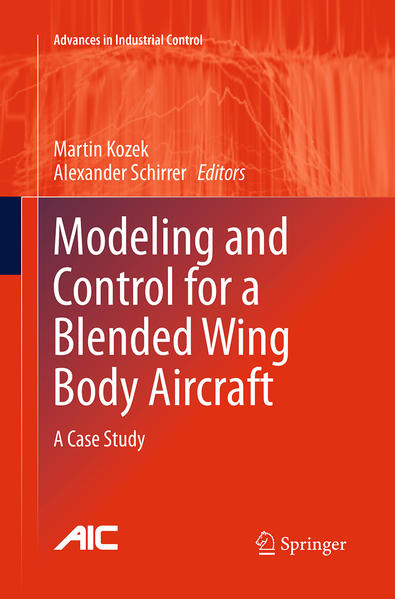 Modeling and Control for a Blended Wing Body Aircraft - Coverbild
