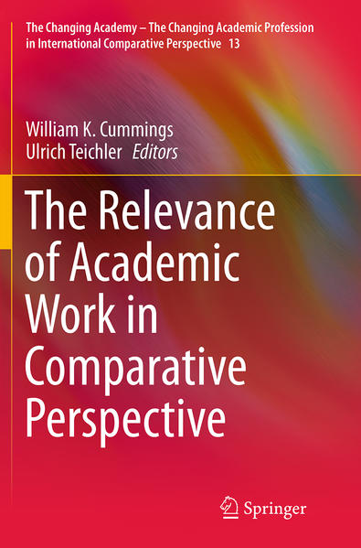 The Relevance of Academic Work in Comparative Perspective - Coverbild