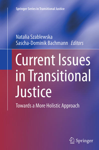 Current Issues in Transitional Justice - Coverbild