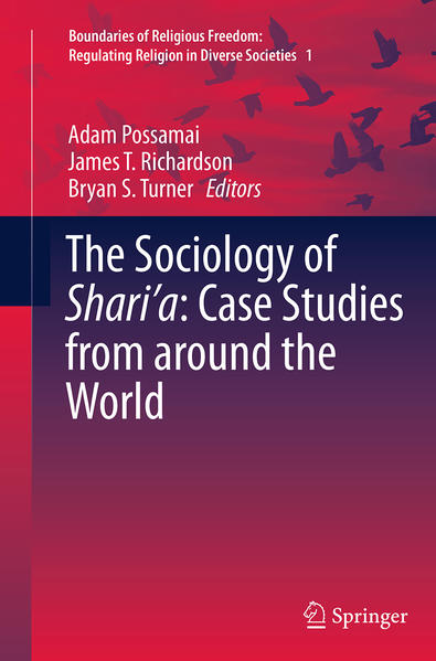 The Sociology of Shari'a: Case Studies from around the World - Coverbild