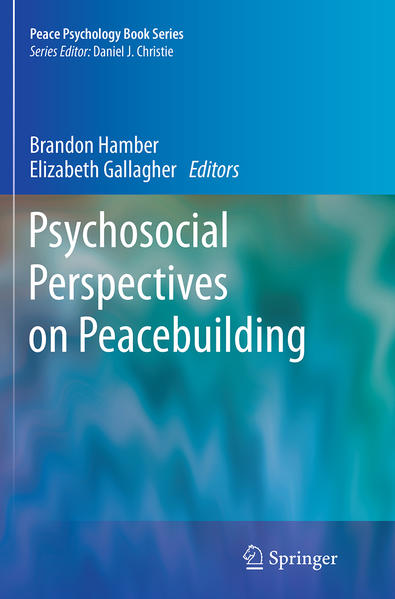 Psychosocial Perspectives on Peacebuilding - Coverbild