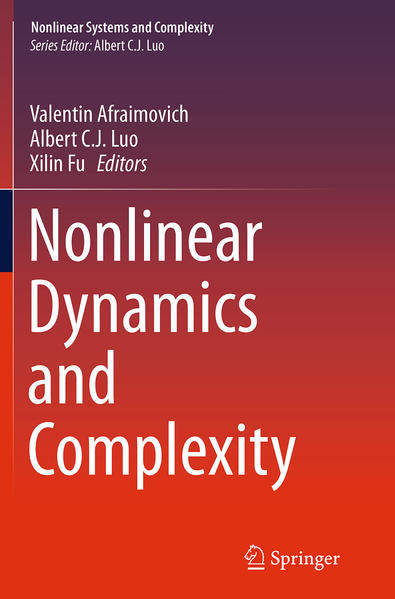 Nonlinear Dynamics and Complexity - Coverbild