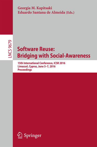 Software Reuse: Bridging with Social-Awareness - Coverbild