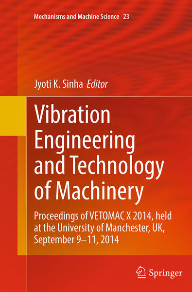 Vibration Engineering and Technology of Machinery - Coverbild