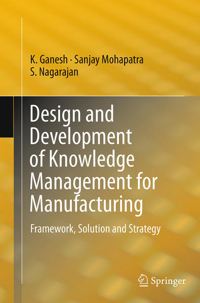 Design and Development of Knowledge Management for Manufacturing - Coverbild